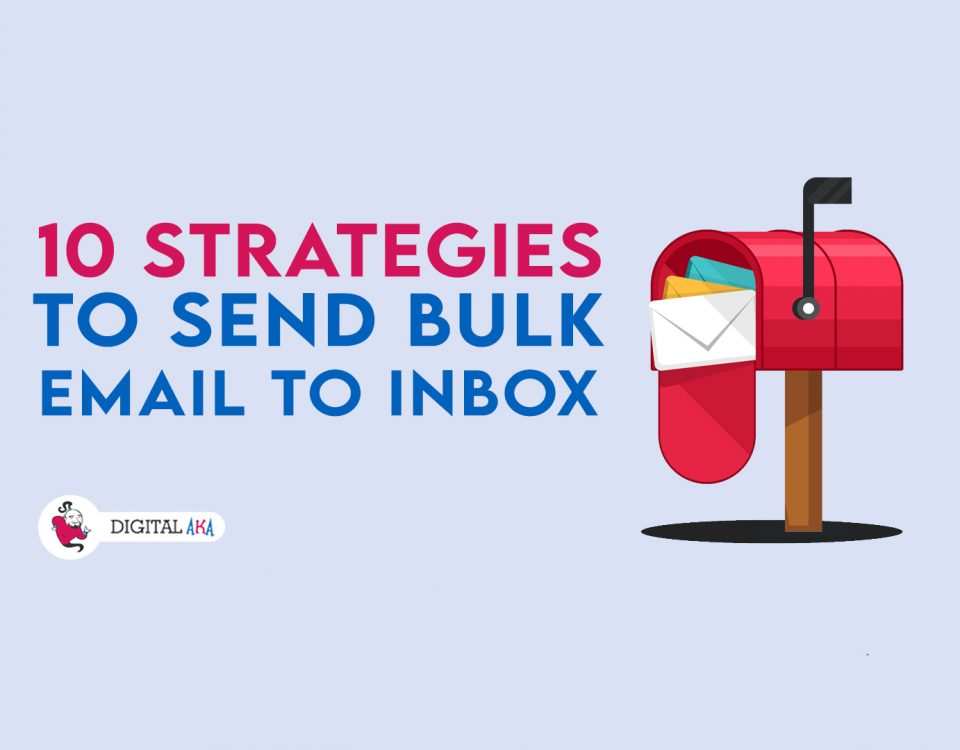 10 Stratigies to send bulk email banner