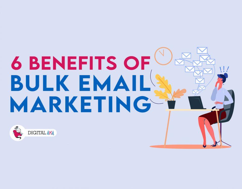 benefits of Bulk email marketing