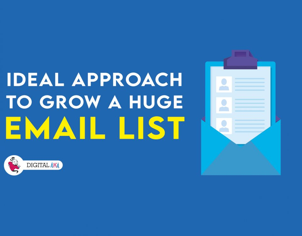 growing email list