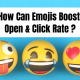 How can emojis boost open & click rate
